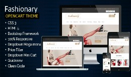 Fashionary - Opencart Responsive Theme OC 2.0 - ..