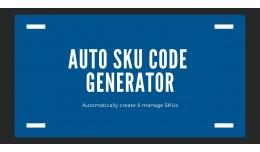 SKUCodeGenerator: Automatically Generator SKU Co..