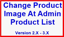 Change Product Image At Admin Product List
