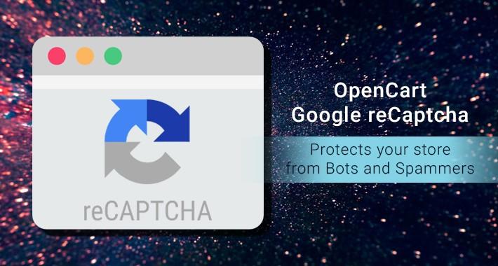 OpenCart Google reCaptcha