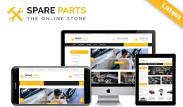 Spare Parts  - multi purpose theme