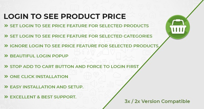 Login to see Price Based on Products & Categories
