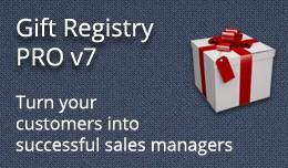 Gift Registry PRO v7.0