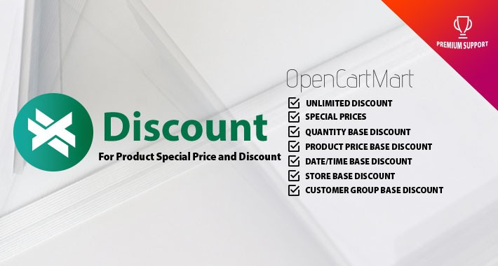 X-Discount/Special Price