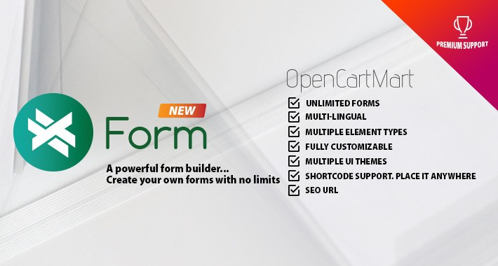 X-Form - An Advance Form Builder