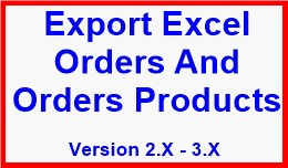 Export Excel Orders And Orders Products
