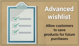OpenCart Advanced Wishlist