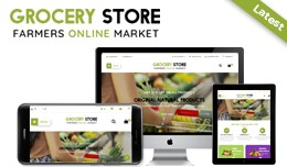 Grocery Store - Opencart Theme