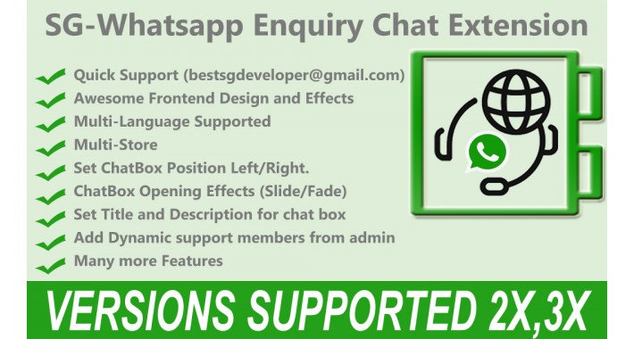 Whatsapp Enquiry Chat Extension