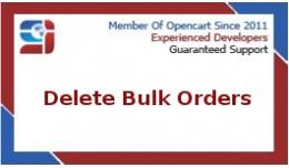 Delete Bulk Orders
