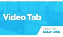 Video Tab in Product Page