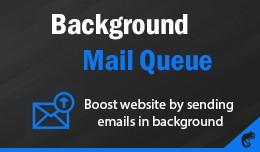 Background Mail Queue