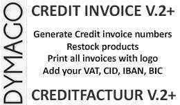 Credit Invoice v2 - Creditfactuur v2