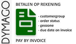 Betalen op rekening / Pay by Invoice