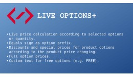 Live Options+ (live price update, equals sign, o..