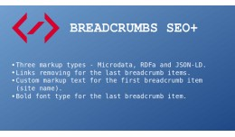 Breadcrumbs SEO+ (Microdata, RDFa, JSON-LD)