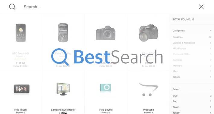 BestSearch - Full-text Ajax Live Search Module