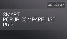 Smart Popup Compare List Pro
