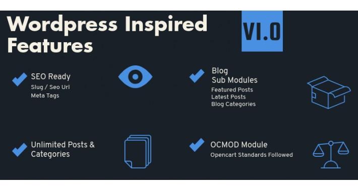 Opencart Blog  Module - Daily Blog  Pro