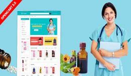 Drugs & Medicine opencart 3 website theme (D..