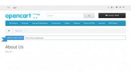 Opencart 3 Newsticker module