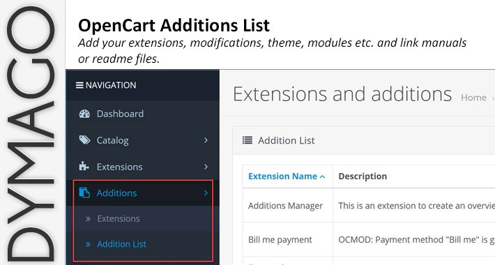 Addition Manager + Expenses export