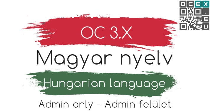Magyar nyelvi csomag - Hungarian languge pack - (Admin)