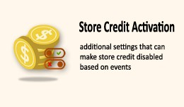 Store Credit Activation