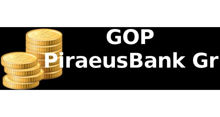 Τράπεζα Πειραιώς GOP PiraeusBank Gr 2.3 Update HashKey