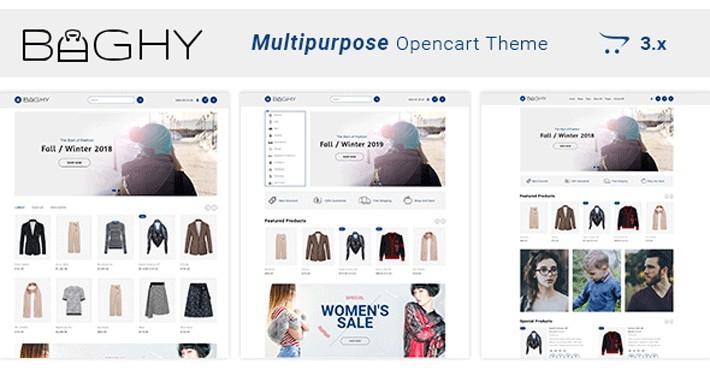 Baghy - Multipurpose Responsive Opencart  3.x