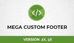 Mega Custom Footer