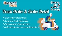 Opencart - Track Order & Order Details on Ch..