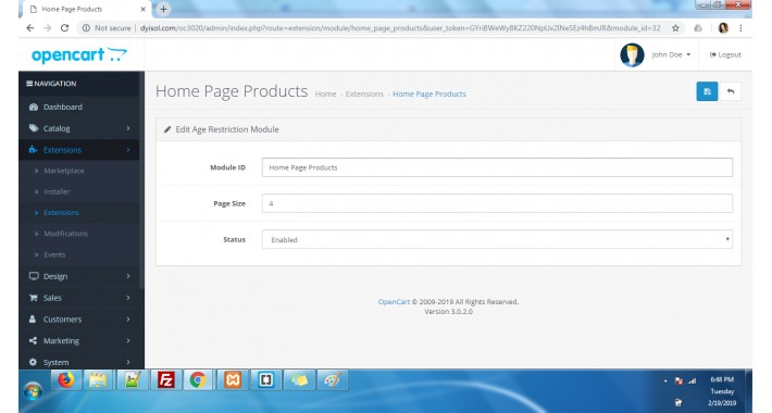 Load More Products on Scroll down 3.x