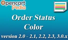 Opencart Order Status Color