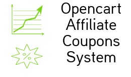 Opencart Affiliate Coupon System