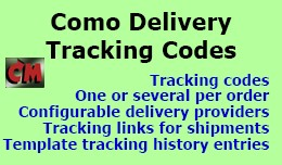 Como Delivery Tracking Codes