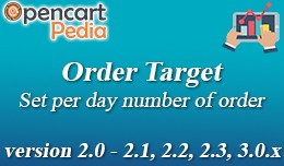 Opencart Order Target
