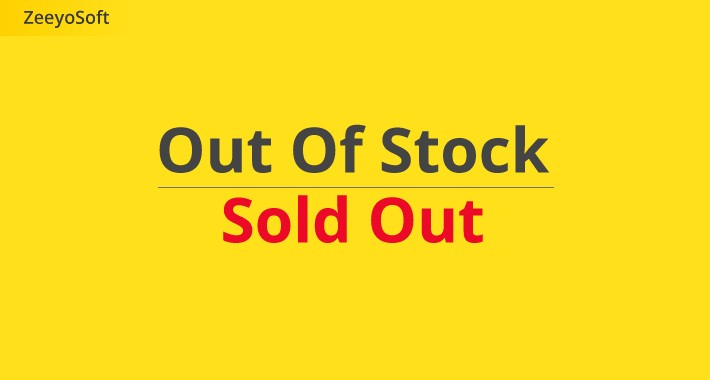 Out of Stock - Add a label on sold out items + Disable AddToCart