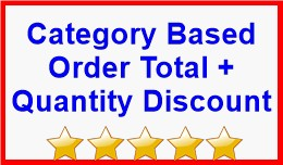Category Based Order Total + Quantity Discount