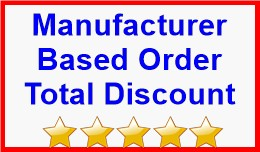 Manufacturer Based Order Total Discount