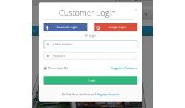 Social Login-Facebook & Google-Custom Regist..