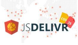 Stock javascript & stylesheets from jsdelivr..