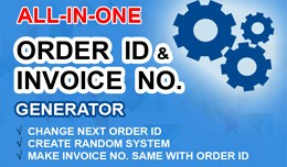 All-In-One Order ID & Invoice No. Generator