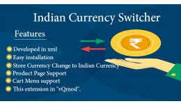 Indian Currency (Currency Switcher,symbol)