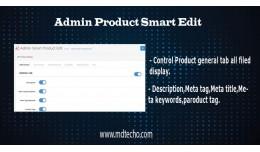 Admin Product Smart Edit