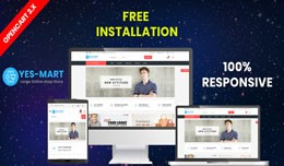 Yesmart opencart 3 website theme (shopping, fash..