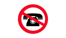 Telephone not required