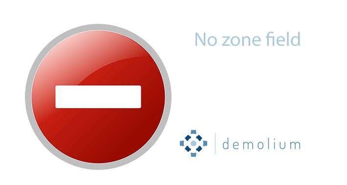 Disable / Remove zone field