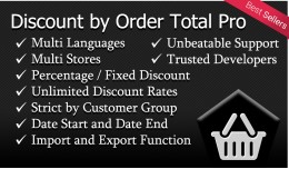 Discount by Order Total Pro