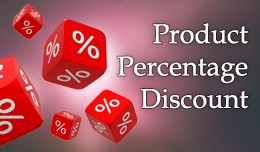 Product Percentage Discount OC 2.x - 3.x